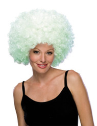 Glow-In-The-Dark Afro Hair Wig