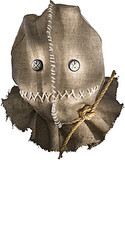 Deluxe Trick 'R Treat Latex Mask