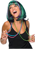 Fancy Mardi Gras Hair Wig