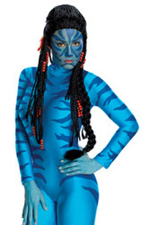 Avatar Neytiri Hair Wig Adult Costumes Accessory