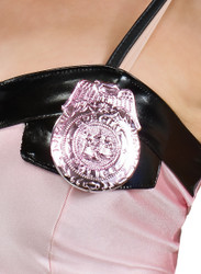 Pink Police Badge