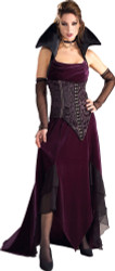 Vampira Costume, Adult Super Deluxe Dress