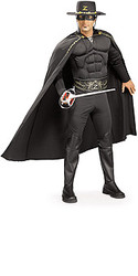 Zorro costumes Costume Adult Muscle Chest Halloween Costume