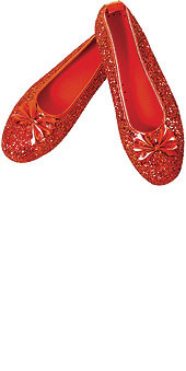 Dorothy's Ruby Red Shoes Wizard of Oz