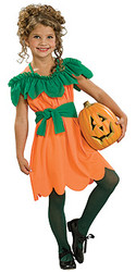 Child Pumpkin Princess Costume