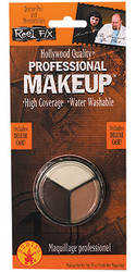 Professional White Flesh and Brown halloween makeup