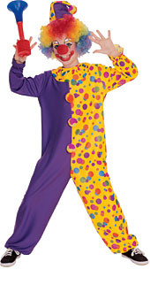 Child Smiley the clown costumes