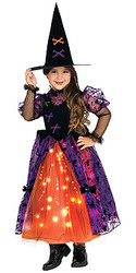 Pretty witch Child costume