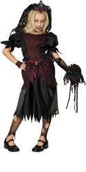 Zombie Prom Queen Costume, Child - Scary Halloween Costume