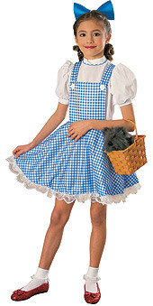 Dorothy Dress, Child Wizard of Oz Deluxe