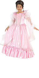 Sleeping Beauty Pink Rose Dress