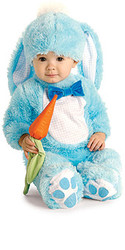 Baby Blue Rabbit Costume, Newborn and Infant