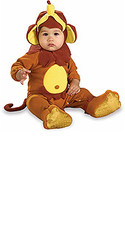 Baby Monkey Costume, Newborn and Infant - Cute Halloween Costume