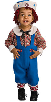 Baby Raggamuffin Sailor Costume, Infant and Toddler