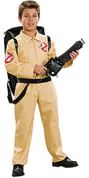 Ghostbusters Costume, Child Deluxe - Halloween Movie Costume