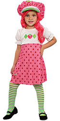 Cute Strawberry Shortcake Costume, Kids