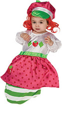 Baby Strawberry Shortcake Costume, Newborn Bunting - Cute Halloween Costume 2010