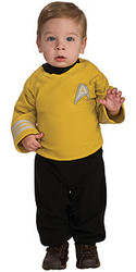 Star Trek Baby Kirk Costume, Gold Uniform