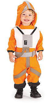 Baby X-Wing Fighter Pilot Star Wars costume