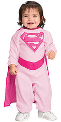 Baby White Supergirls costumes , Newborn and Infant