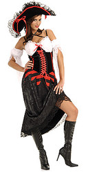 Queen Of The Sea Pirate Costume Adult Halloween Costume