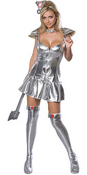 Tin Woman Costume, Adult Wizard of Oz - Sexy Halloween Costume