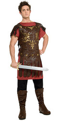 Gladiator Costume, Adult Roman Warrior