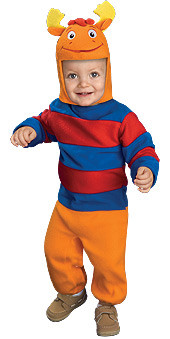 Baby Tyrone Costume, Newborn and Infant Backyardigans