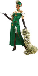 Lady Luck Costume Adult Casino Halloween Costume