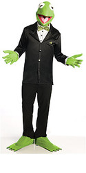 The Muppets Adult Costumes Kermit the Frog