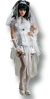 Gothic Mistress Costume Adult Halloween Dress