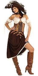 Maiden Of The Sea Pirate Costume Adult Halloween Costume