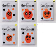 Pumpkin Head Flex Pack GelGem Window Clings