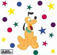 Disney Pluto GelGems Large Window Clings
