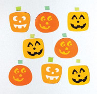 Jack o Lantern GelGem Window Clings