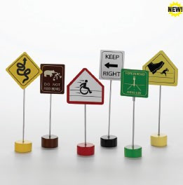 Doodles Silly Sign Memo Clip