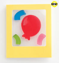 Balloon Gelgems Mini Greeting Card/Gift Tag