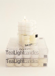 Clear Cup TeaLights (Box of 50)