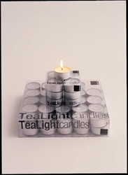 TeaLights White (Box of 100)