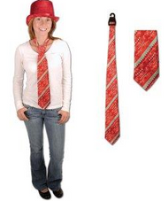 Holiday Lights Tie