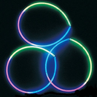 Tri Color Glow necklaces