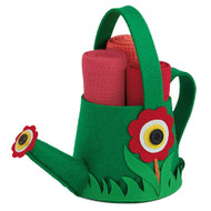 Watering Can Felt Bag With Towels
