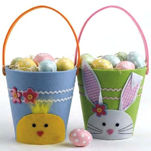 Felt Easter Baskets