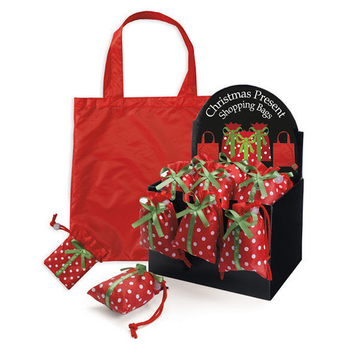 Christmas Present Grocery Bags