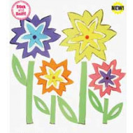 Scented Crazy Flowers GelGems® Small Window Clings