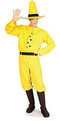 Man in the Yellow Hat Adult Costume