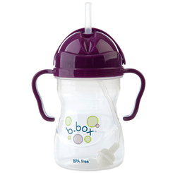 B.Box Sippy Cup - Grape - open