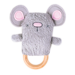 DINGaRING Teething Rattle - Moe Mouse