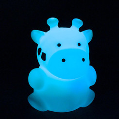 Zooglo Rechargeable LED Night Light - Giraffe - Light on