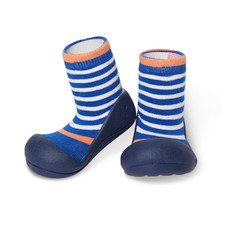 Attipas First Walker Shoe - Ringle - Navy